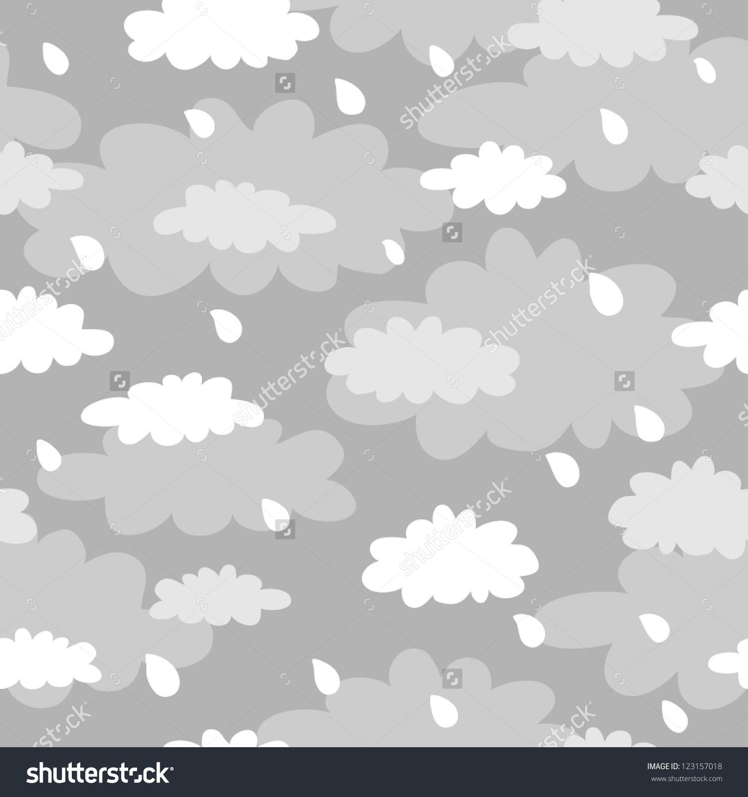 Gray Skies Clip Art.