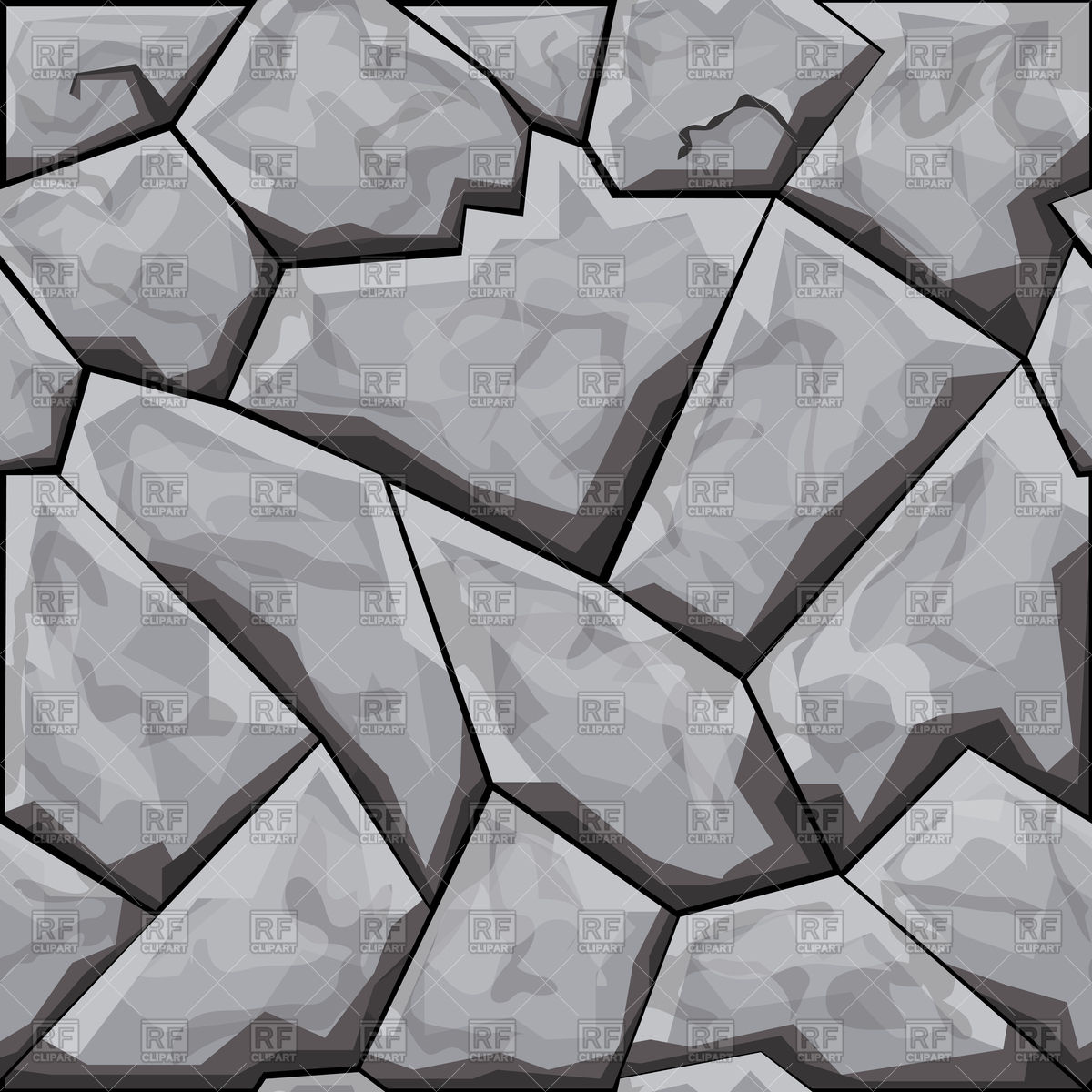 Simple grey stone seamless background Vector Image #96609.