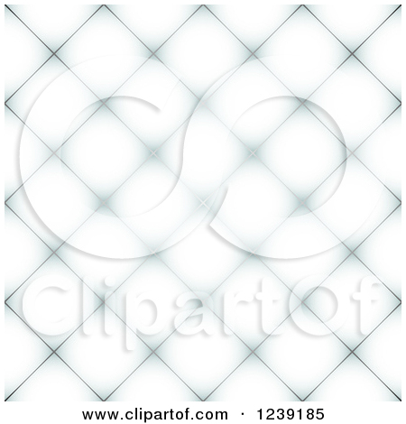 Clipart of a Seamless White and Gray Diamond Pattern Tile.