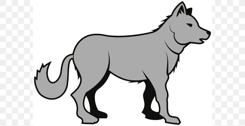 Gray Wolf Clip Art, PNG, 600x422px, Gray Wolf, Art, Artwork.