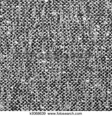 Stock Photograph of Grey tweed texture, gray wool pattern.