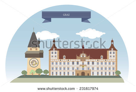 Graz Tourism Stock Vectors & Vector Clip Art.