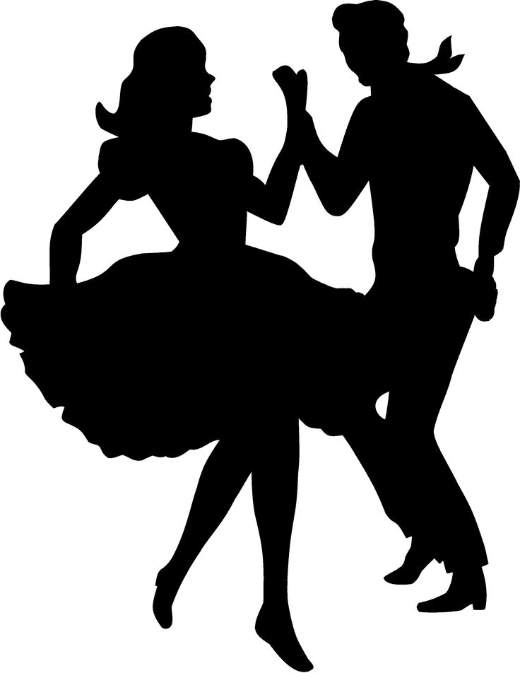Grease clipart silhouette.