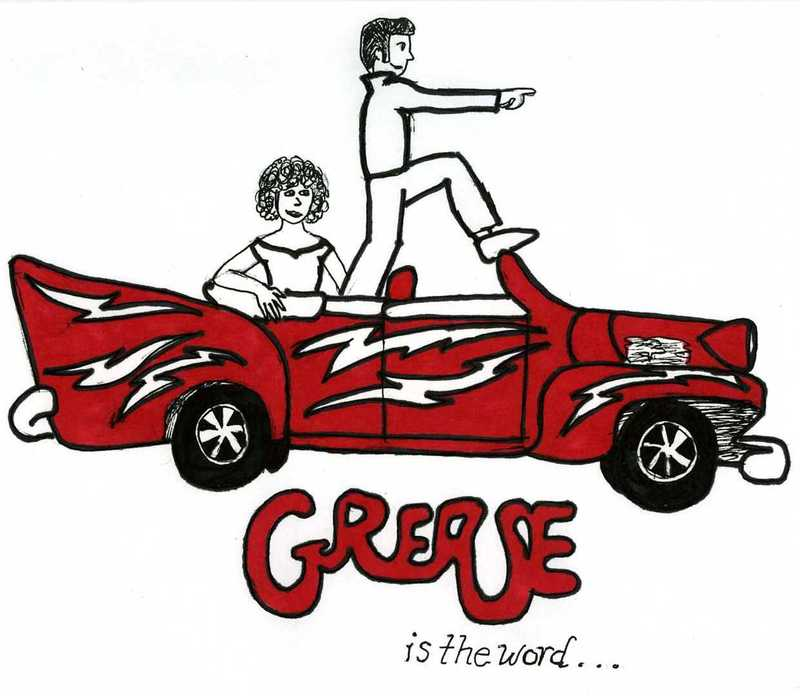 No Grease Clipart.