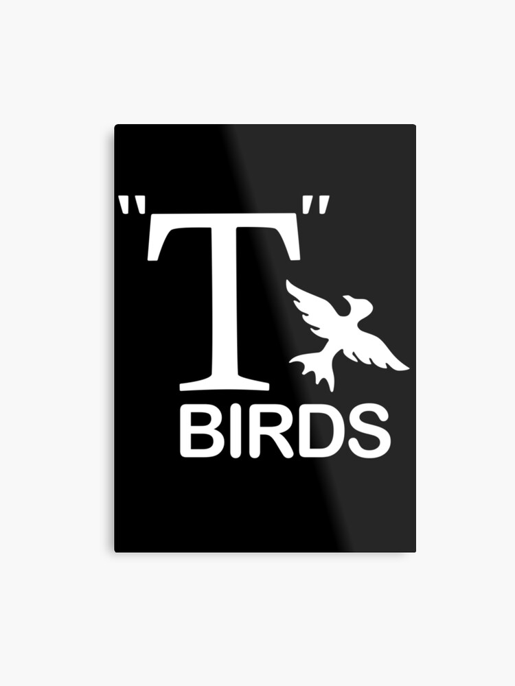 Grease T Birds Logo T Shirt & Sticker.