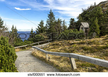 Stock Photography of Germany, Bavaria, Bavarian Forest National.