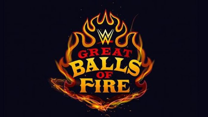 New Logo For July\'s WWE Great Balls of Fire PPV.