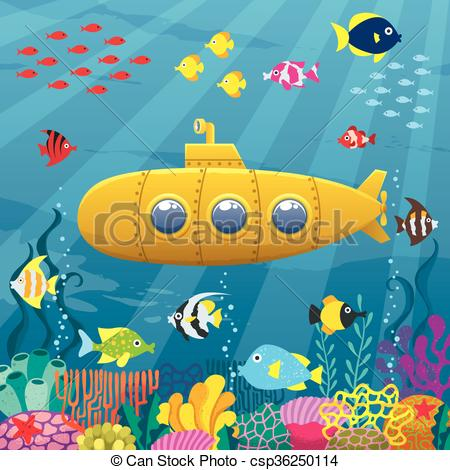 Great barrier reef Vector Clipart Royalty Free. 27 Great barrier.