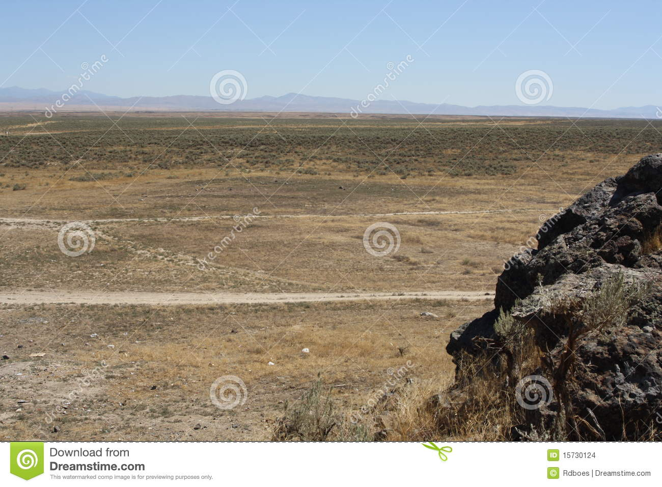 Great Basin Desert Stock Images.