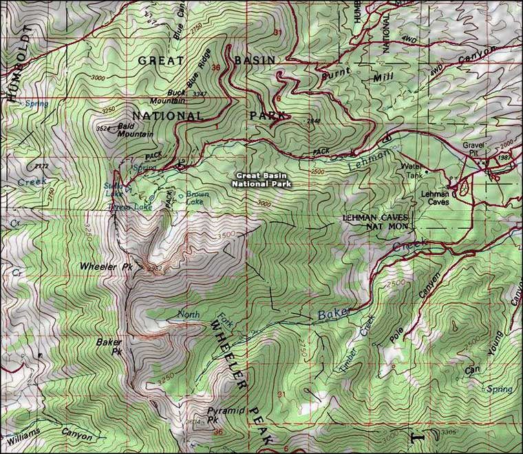 Great Basin Park Clip Art.