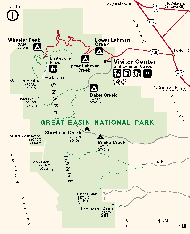 Great Basin Park Clip Art.