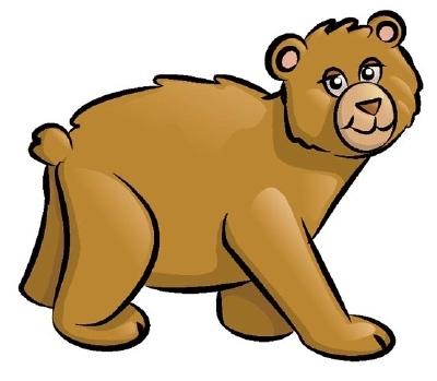 Mama bear clipart.