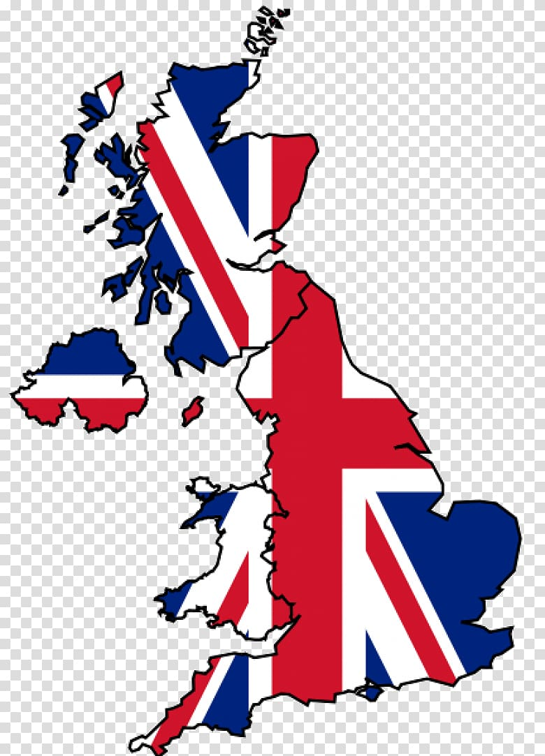 Great Britain map, Flag of England Flag of the United.