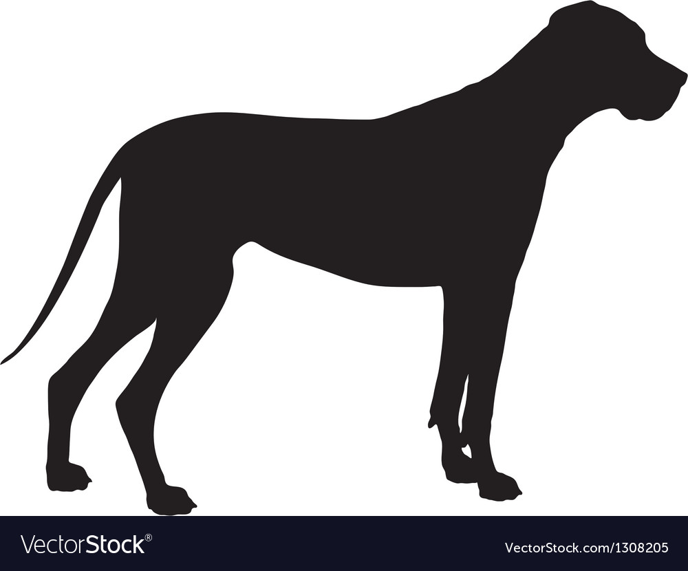 Great Dane Silhouette Images.