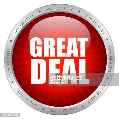 Great deal icon Clipart Image.