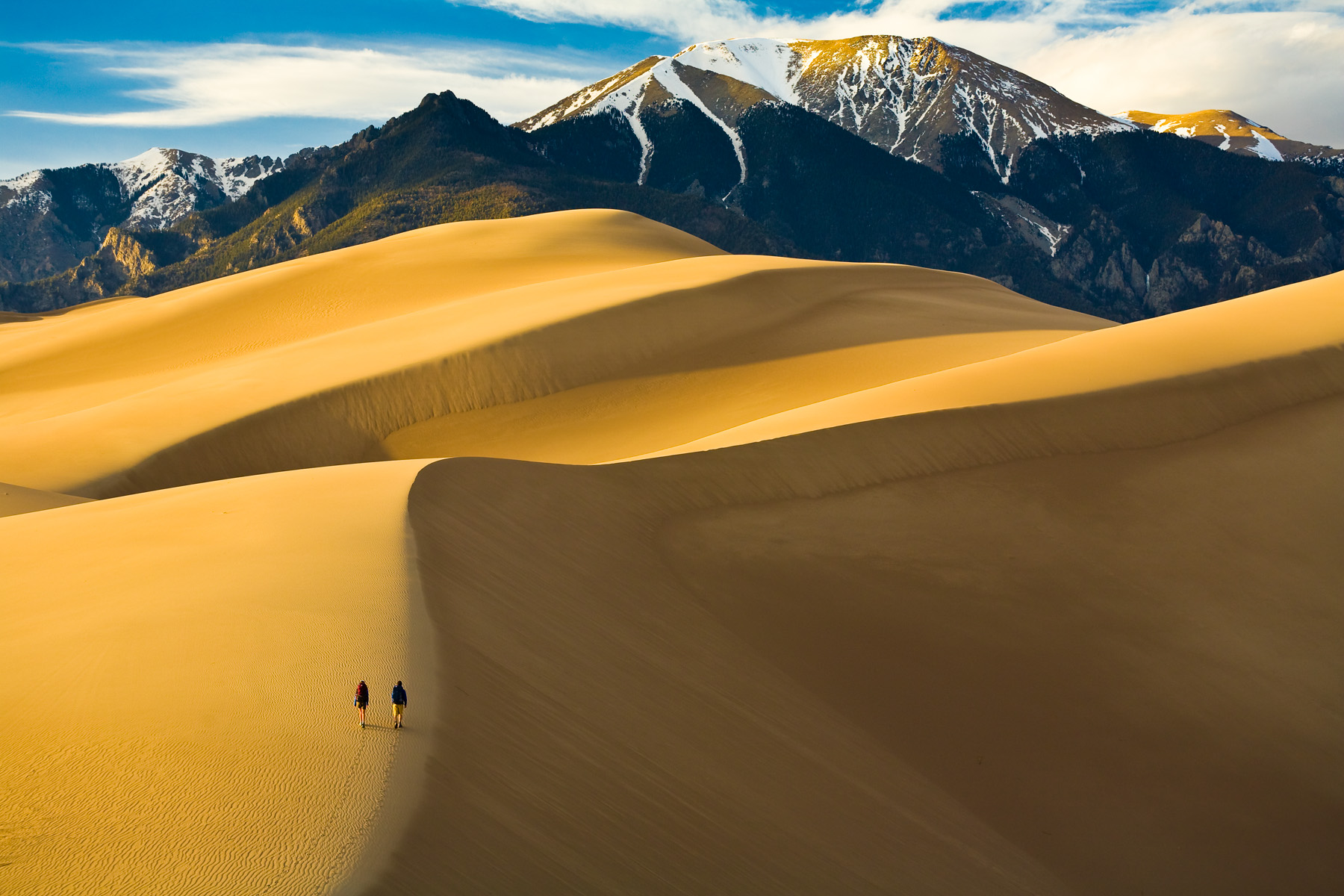 High Quality Great Sand Dunes National Park Wallpaper.