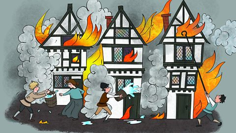 Great fire of london clipart » Clipart Station.