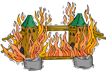 Great fire of london clipart 8 » Clipart Station.