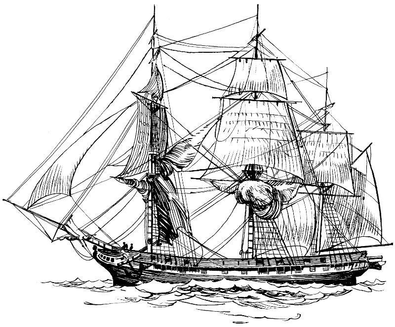 frigate.