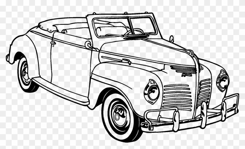 Download Vintage Car Tile Coaster Png Images Background.