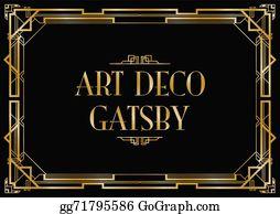 Great Gatsby Clip Art.