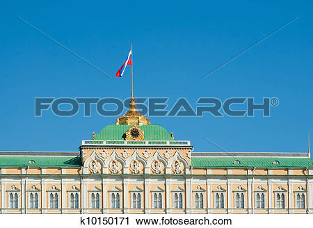 Stock Photography of Great Kremlin Palace k10150171.