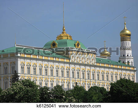 Stock Photography of Kremlin Palace in Moscow k6125041.