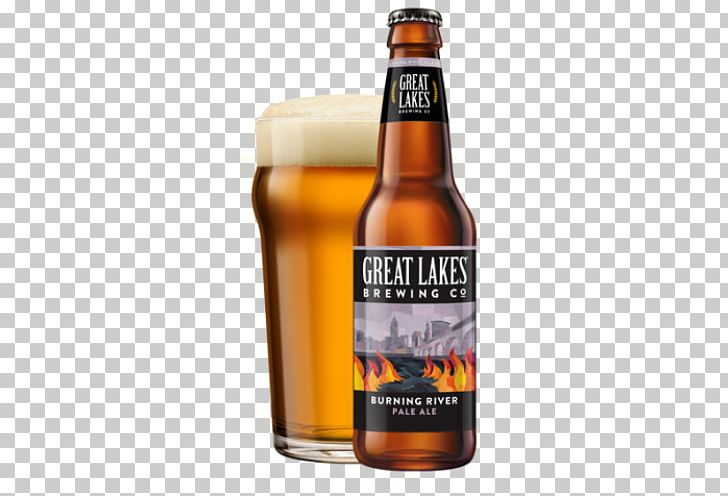 Great Lakes Brewing Company Beer American Pale Ale PNG.