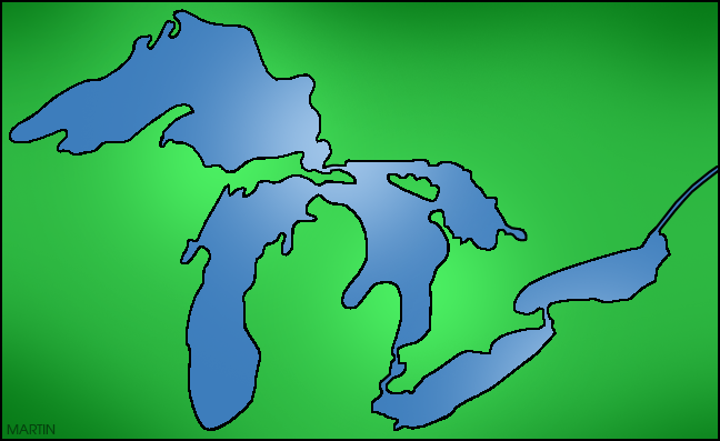 Lakes Clipart.