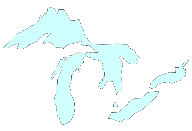 michigan great lakes coloring pages - photo#18