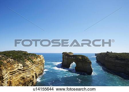 Stock Photo of Loch Ard Gorge, Great Ocean Road, Australia.