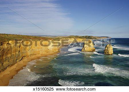 Stock Image of Australia, Victoria, The Great Ocean Road, Twelve.