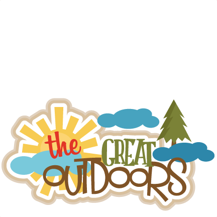 The Great Outdoors SVG scrapbook cut file cute clipart files for.
