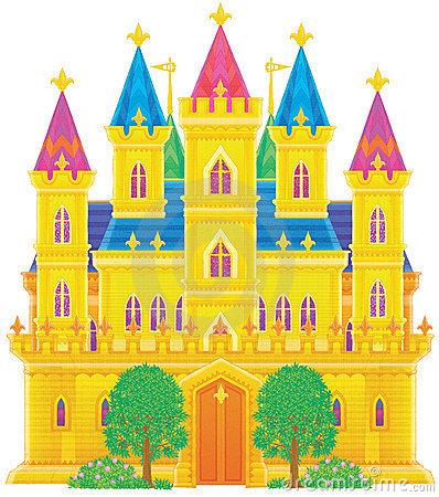 Palace Stock Illustrations.