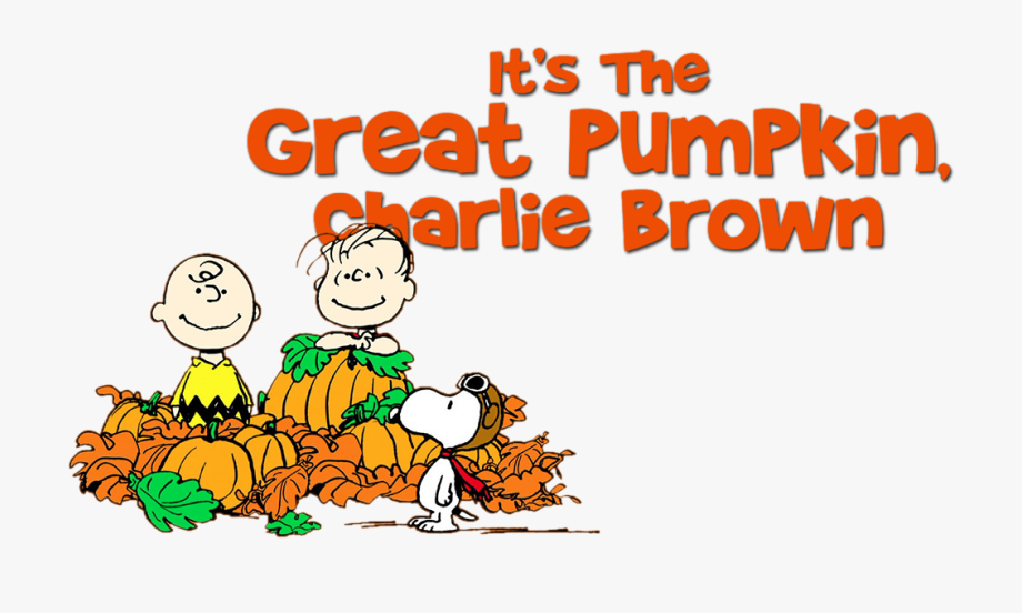 Great Pumpkin Charlie Brown Clip Art.