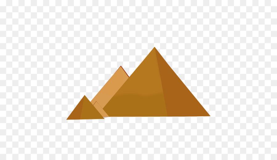 Great Pyramid Of Giza Angle png download.