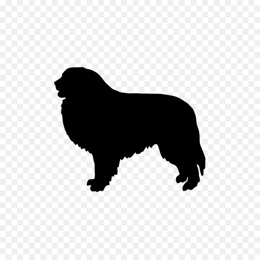 Dog Silhouette png download.
