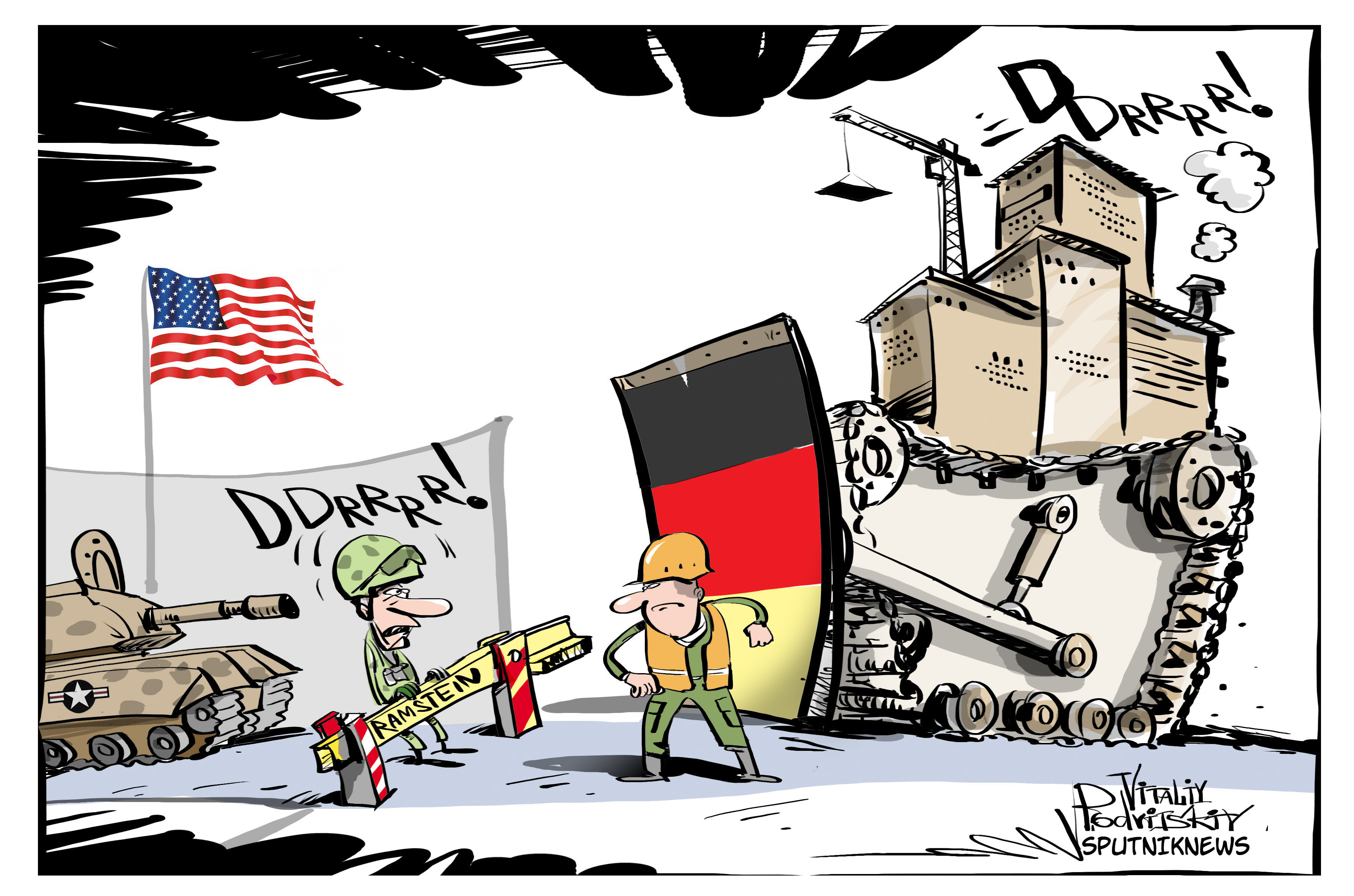 Teacher vs. US Base: 'If Germany is Really Independent, It Must.
