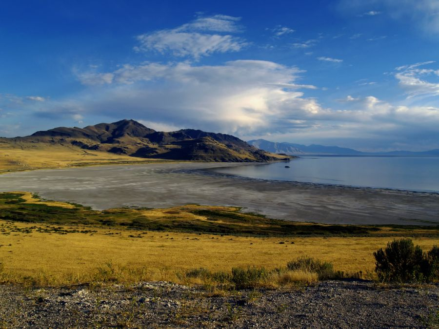 Free Photos: Stansbury Island on the Great Salt Lake, Utah.