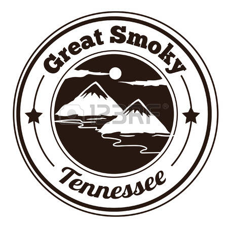 Great smoky mountains clipart.