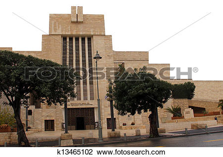 Stock Photo of The Great Synagogue of Jerusalem k13465102.