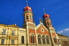 Great Synagogue , Od Architecture, Pilsen, Czech Republic Stock.