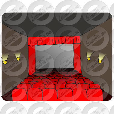 Movie Theater Picture for Classroom / Therapy Use.