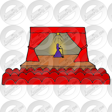 Theater Picture for Classroom / Therapy Use.