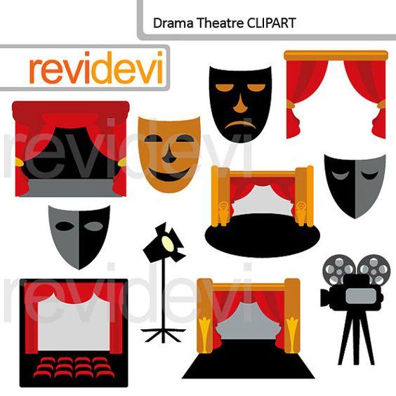 Clipart Drama Theatre.