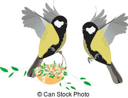 Great tit Illustrations and Clipart. 88 Great tit royalty free.