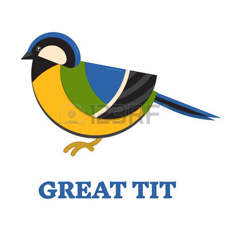 Great tit clipart #1