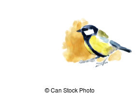 Great tit Illustrations and Clipart. 83 Great tit royalty free.