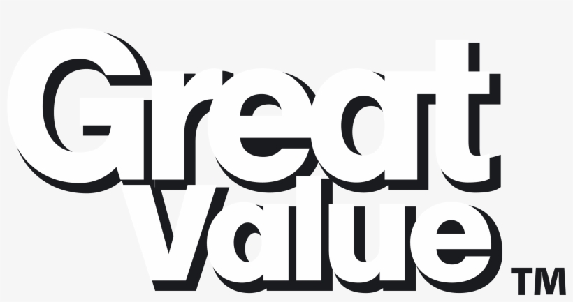 Walmart Great Value Logos Png Walmart Logo White.