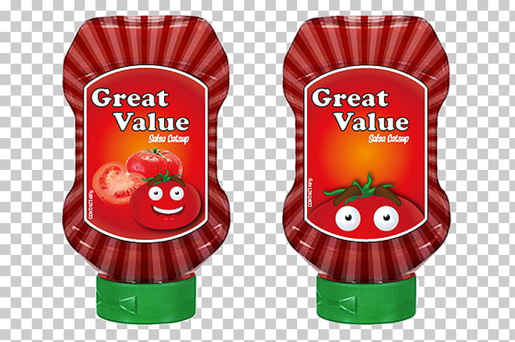 Ketchup Flavor, great value PNG clipart.